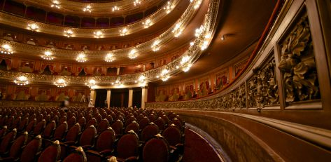 Parisian theather room